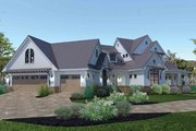 Farmhouse Style House Plan - 3 Beds 2.5 Baths 2984 Sq/Ft Plan #120-195 Exterior - Front Elevation