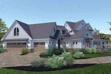 Architectural House Design - Farmhouse Exterior - Front Elevation Plan #120-195