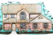 Traditional Style House Plan - 3 Beds 2.5 Baths 1995 Sq/Ft Plan #421-113