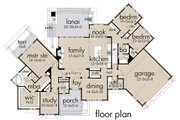 Ranch Style House Plan - 3 Beds 3 Baths 2352 Sq/Ft Plan #120-194 Floor Plan - Main Floor