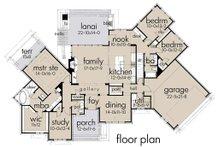Ranch Floor Plan - Main Floor Plan Plan #120-194