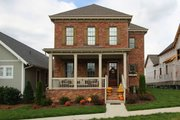 Southern Style House Plan - 3 Beds 2.5 Baths 2286 Sq/Ft Plan #900-3 Exterior - Front Elevation