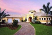 Mediterranean Style House Plan - 3 Beds 3.5 Baths 4043 Sq/Ft Plan #115-109