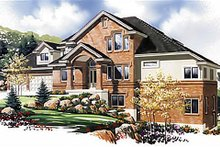 Dream House Plan - Traditional Exterior - Other Elevation Plan #5-225