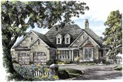 Traditional Style House Plan - 3 Beds 2.5 Baths 2477 Sq/Ft Plan #929-792 Exterior - Front Elevation