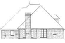 House Plan Design - Country Exterior - Rear Elevation Plan #310-1270