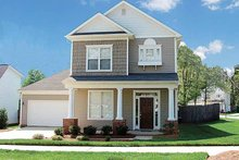 House Plan Design - Country Exterior - Front Elevation Plan #453-207