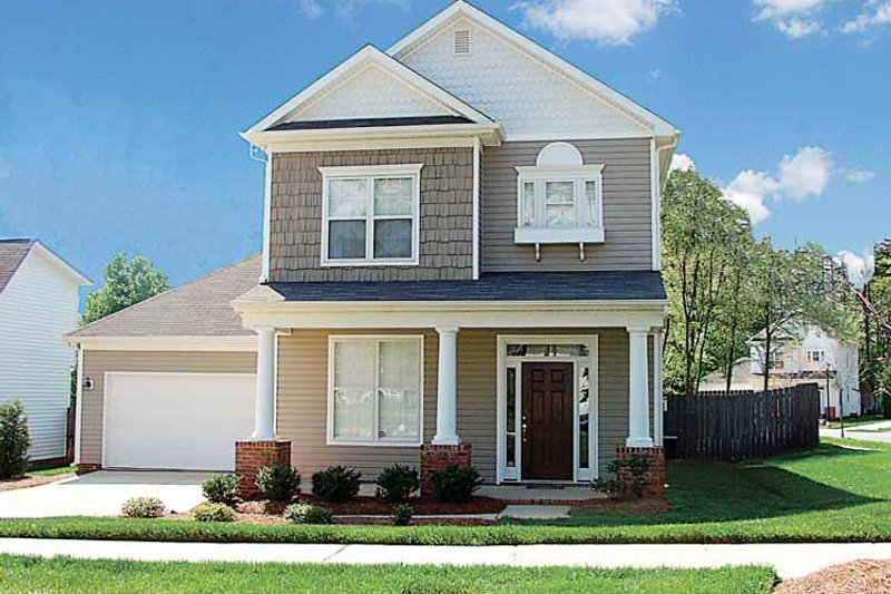 Dream House Plan - Country Exterior - Front Elevation Plan #453-207