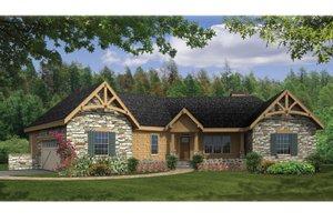 Craftsman Exterior - Front Elevation Plan #314-270
