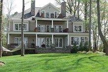 Craftsman Exterior - Rear Elevation Plan #453-314