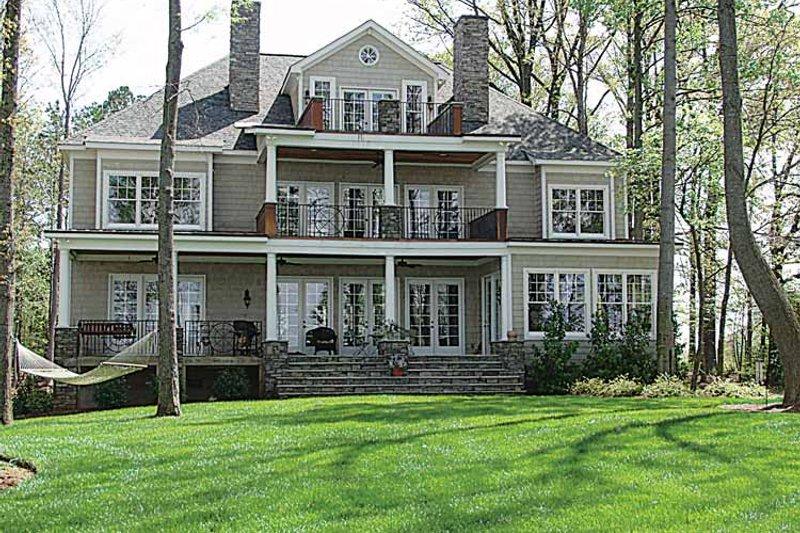 Craftsman Exterior - Rear Elevation Plan #453-314 - Houseplans.com