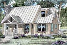 Craftsman Exterior - Front Elevation Plan #17-3046