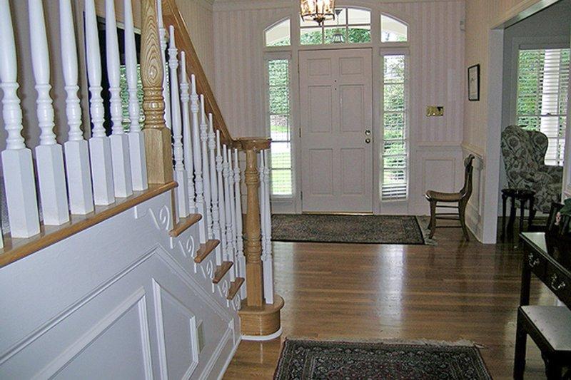 Classical Interior - Entry Plan #137-298 - Houseplans.com