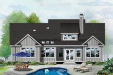 Home Plan - Farmhouse Exterior - Rear Elevation Plan #929-1131