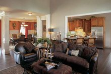House Plan Design - Country Interior - Family Room Plan #927-287