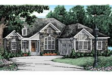 Country Exterior - Front Elevation Plan #927-911