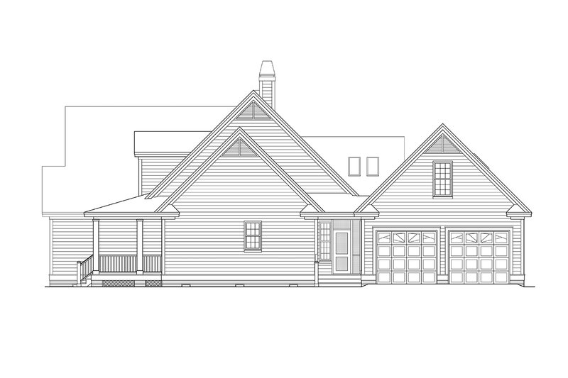 Country Exterior - Other Elevation Plan #929-961 - Houseplans.com