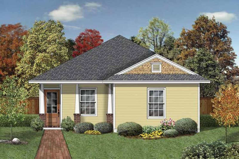 Home Plan - Craftsman Exterior - Front Elevation Plan #84-777