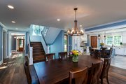 Country Style House Plan - 3 Beds 4 Baths 3347 Sq/Ft Plan #928-290 Interior - Dining Room