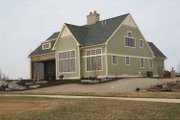 Craftsman Style House Plan - 3 Beds 4 Baths 2944 Sq/Ft Plan #928-230 Exterior - Rear Elevation