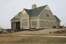 Dream House Plan - Craftsman Exterior - Rear Elevation Plan #928-230