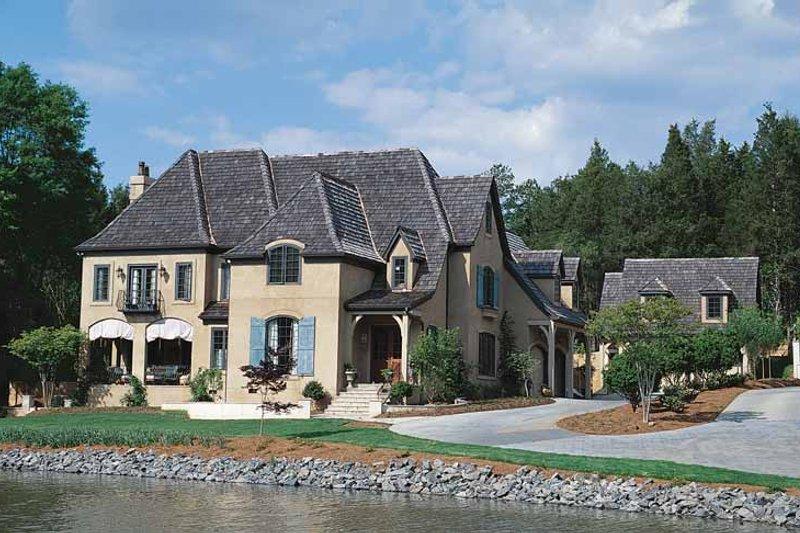Dream House Plan - European Exterior - Front Elevation Plan #453-183