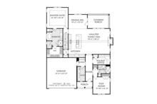 European Floor Plan - Main Floor Plan Plan #927-965