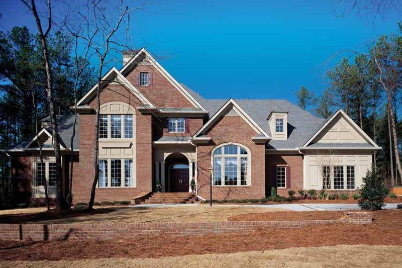 House Plan Design - European Exterior - Front Elevation Plan #429-193