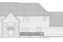 House Plan Design - Traditional Exterior - Rear Elevation Plan #328-465