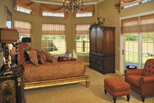 House Plan Design - Mediterranean Interior - Master Bedroom Plan #930-57