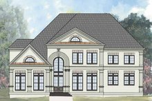 Traditional Exterior - Front Elevation Plan #119-411