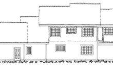 Craftsman Exterior - Rear Elevation Plan #942-12