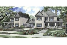 Country Exterior - Front Elevation Plan #17-2830