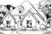 European Style House Plan - 3 Beds 2.5 Baths 3237 Sq/Ft Plan #141-364