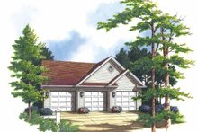 Dream House Plan - Colonial Exterior - Front Elevation Plan #48-819
