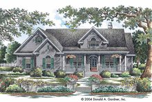House Plan Design - Country Exterior - Front Elevation Plan #929-730