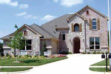 Home Plan - Tudor Exterior - Front Elevation Plan #84-694