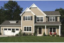 House Plan Design - Country Exterior - Front Elevation Plan #928-157