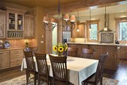 Craftsman Style House Plan - 3 Beds 2.5 Baths 2907 Sq/Ft Plan #48-517 Interior - Kitchen