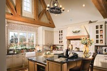 House Plan Design - European Interior - Kitchen Plan #453-606