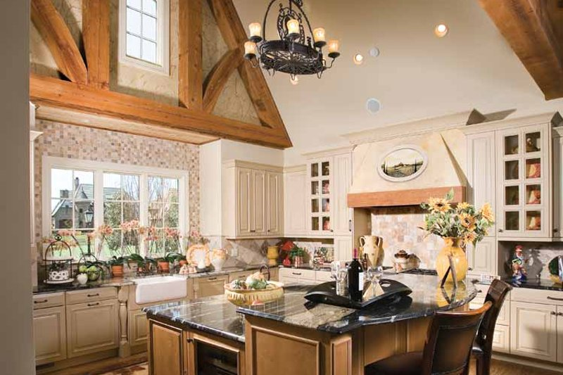European Interior - Kitchen Plan #453-606 - Houseplans.com