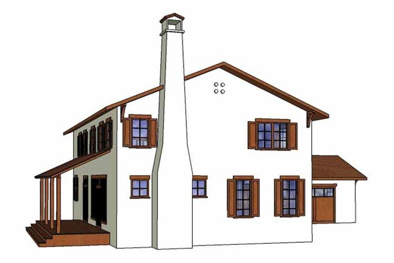 Mediterranean Exterior - Other Elevation Plan #1042-9 - Houseplans.com