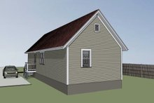 Architectural House Design - Cottage Exterior - Rear Elevation Plan #79-104