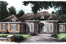 Architectural House Design - Country Exterior - Front Elevation Plan #927-802