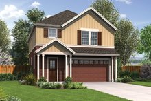 Dream House Plan - Traditional Exterior - Front Elevation Plan #48-912