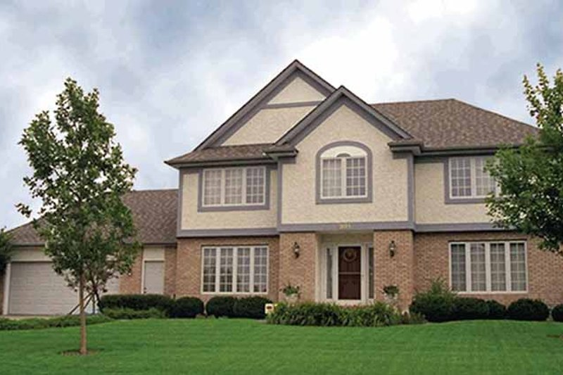 House Plan Design - Traditional Exterior - Front Elevation Plan #51-880