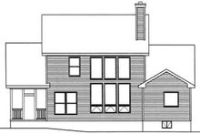 Dream House Plan - Traditional Exterior - Rear Elevation Plan #22-423