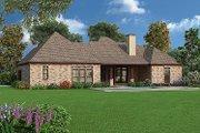 Tudor Style House Plan - 4 Beds 3.5 Baths 2342 Sq/Ft Plan #45-373 Exterior - Rear Elevation