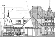 Farmhouse Style House Plan - 5 Beds 4.5 Baths 6051 Sq/Ft Plan #124-111 Exterior - Other Elevation