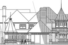 Home Plan - Farmhouse Exterior - Other Elevation Plan #124-111